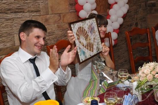 Поздравление с днем свадьбы с предметами 971