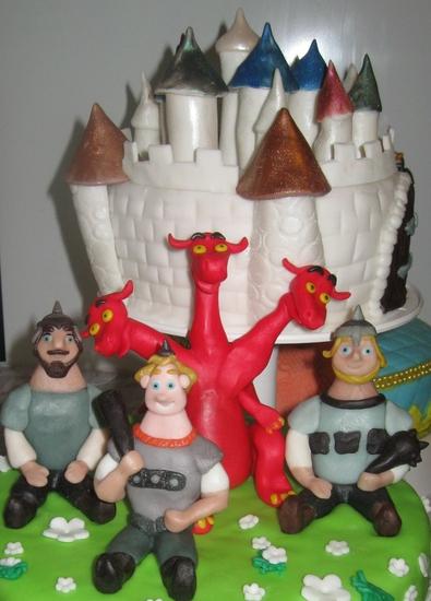 Торт три богатыря рецепт пошагово в домашних условиях