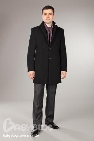 Мужское зимнее пальто 825У-ЧГ