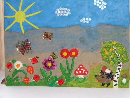 Поделки в детский сад на тему лето своими руками 3-4 лет 34
