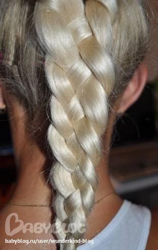 коса из 4 прядей.