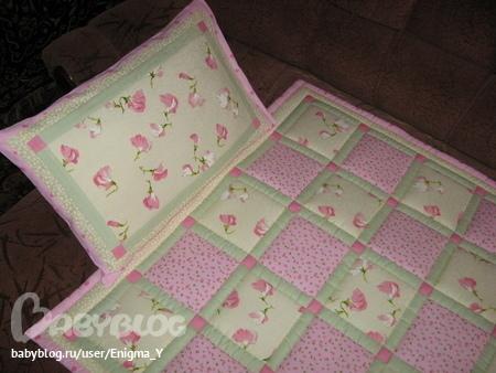 Лоскутное одеяло для новорожденного мастер класс