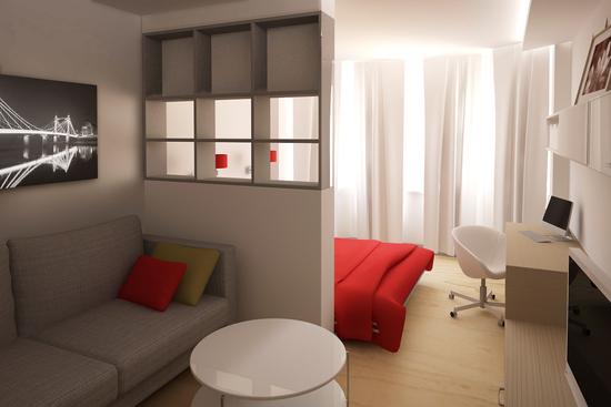 Дизайн спальни 19 кв м