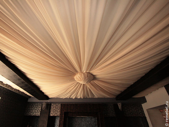 Натяжные тканевые потолки своими руками какую ткань использовать