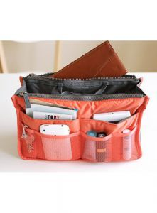 The handy pockets in the bag...  Protect the inner lining of your...