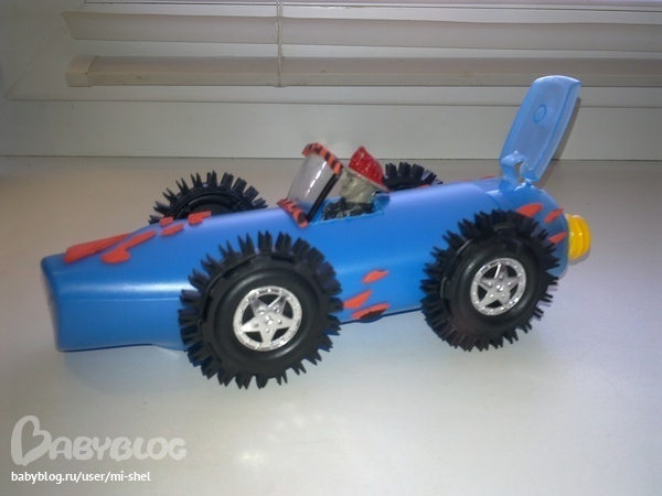 Машинка своими руками из подручных материалов для детского сада 25