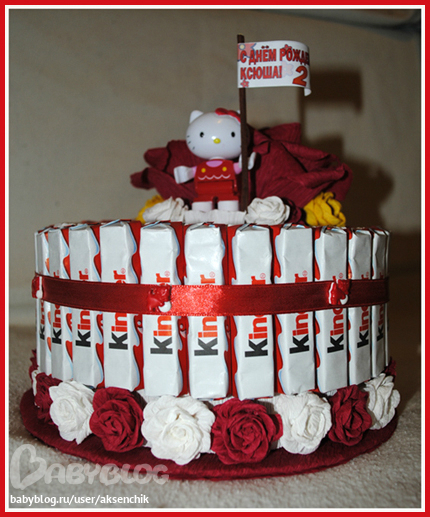 Торт из игрушек своими руками пошагово 25