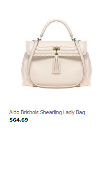 Женские сумки Aldo Brisbois Shearling Lady Bag.