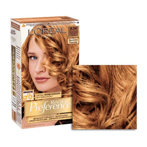Золотистый цвет волос фото краски
