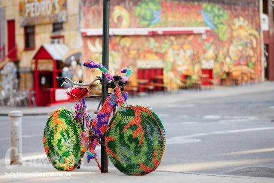 Вязаное граффити,