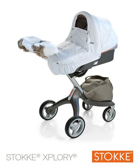 Предложите зимний комплект и муфту для коляски STOKKE.