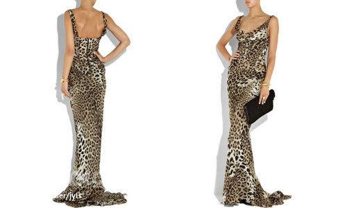 Платье в пол с открытой спиной выкройки
