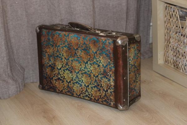 Отделка чемодана своими руками