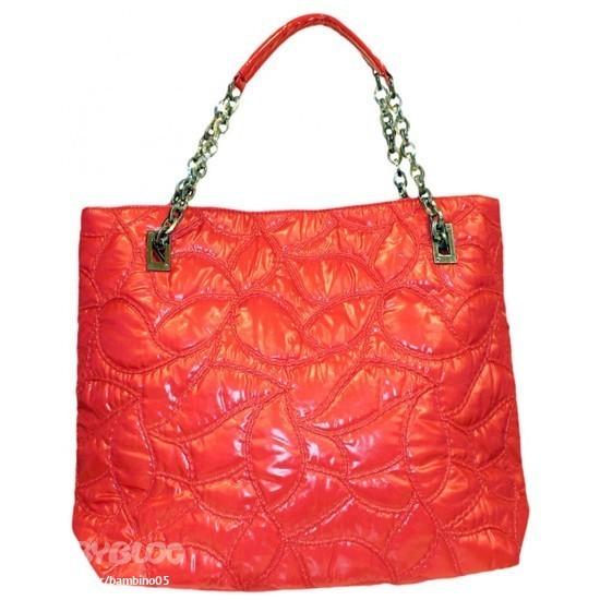 Дутая текстильная сумка.  18 Armani Jeans.