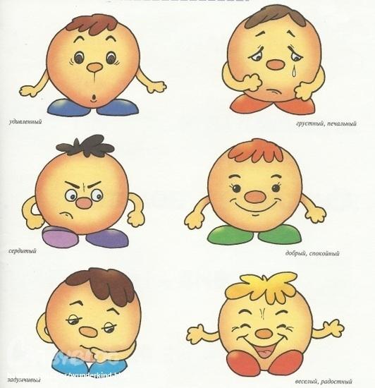 Эмоции картинки для детей смайлики - 5e1
