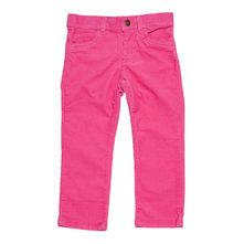 Вельветовые детские штаны jeans-style ярко-розовые.