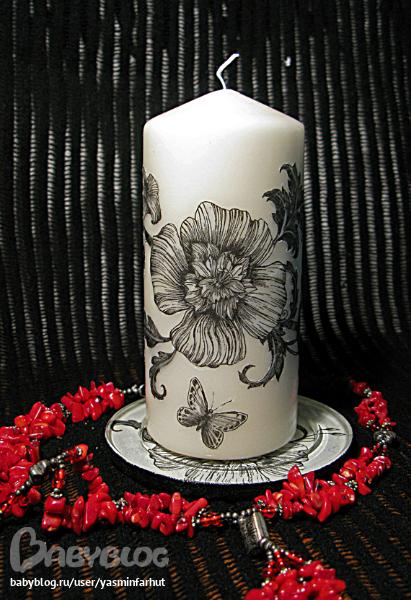 Как сделать черную свечу в домашних условиях для магии
