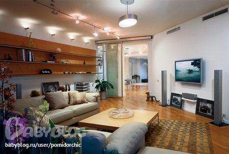 Дизайны комнат в с косыми стенами