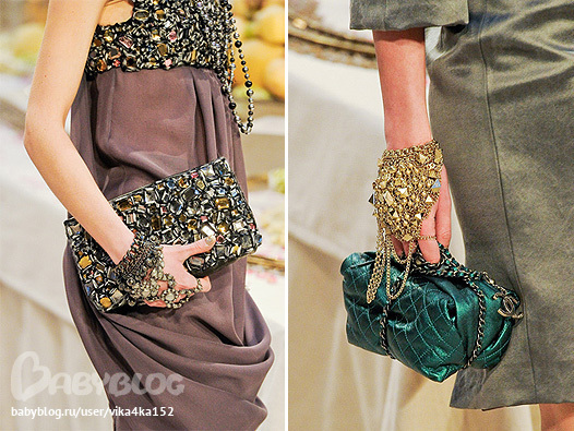 ...в Париже прошел модный показ коллекции одежды Chanel Pre-fall 2012.