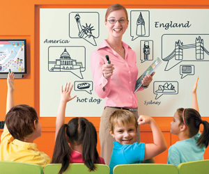Дети учат английский