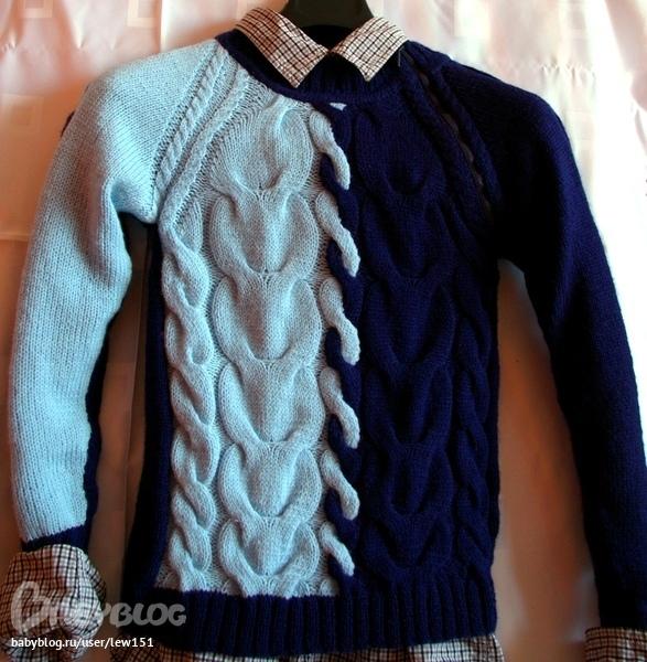 Вязание пуловеров для подростков 622