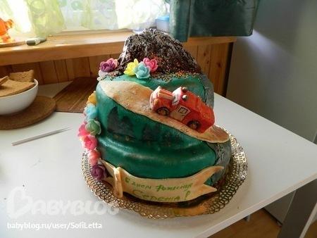 Торт свадебный в зеленом цвете фото 6