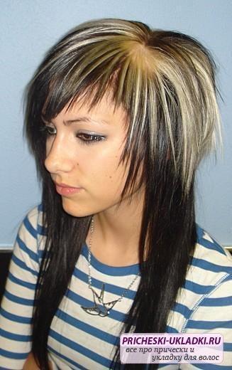 стрижки короткая макушка на средние волосы