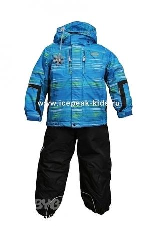 Комплект зимний 4_52003_502_IV_348 синий принт Icepeak.
