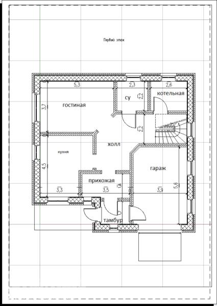 Как рисовать схему дома