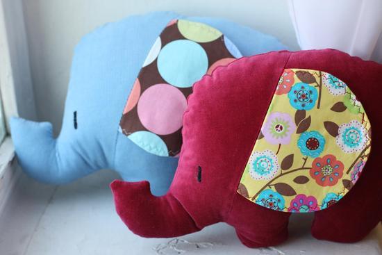Подушка-слон своими руками 94
