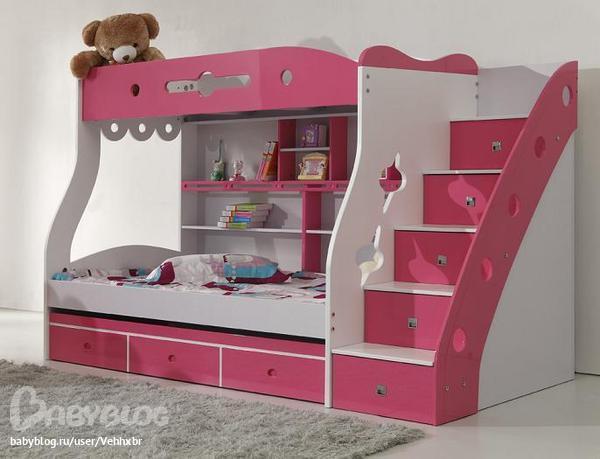 ліжка для дітей фото