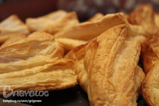 вкусное воздушное слоеное тесто