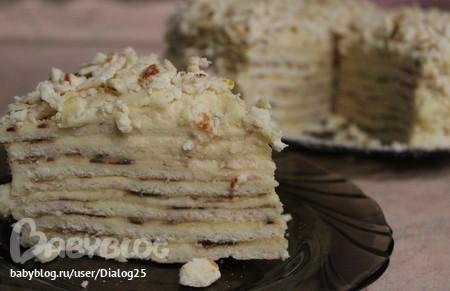 Торт наполеон татьяны литвиновой