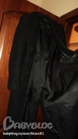 16 апреля, 22:08.  Классическое пальто-шинель, цвет черный, материал...