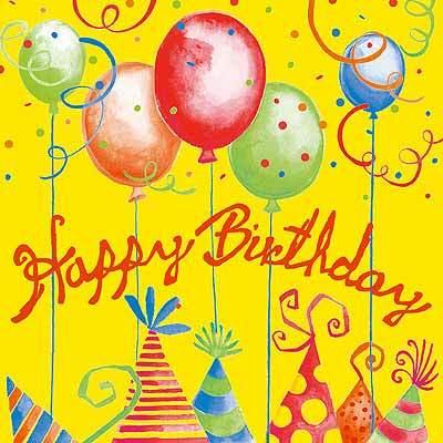 Самая позитивная открытка с днем рождения