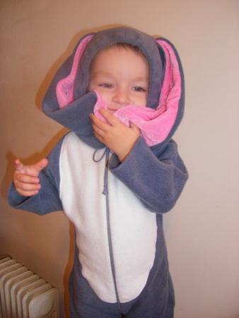 Схема вязания детского костюма на спицах 927