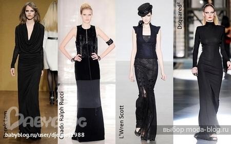 Черное платье на каждый день может быть трикотажным, вязаным, а также из...
