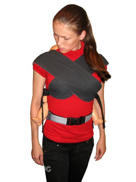 fbefa3315f56 Есть ли варианты, чтобы лямки не перекрещивать на груди  Ребенок тяжелый, я  боюсь, что будет сдавливать грудь.