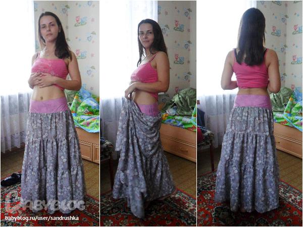 Многоярусная юбка своими руками