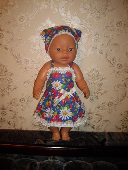 Платье для пупсика своими руками 24