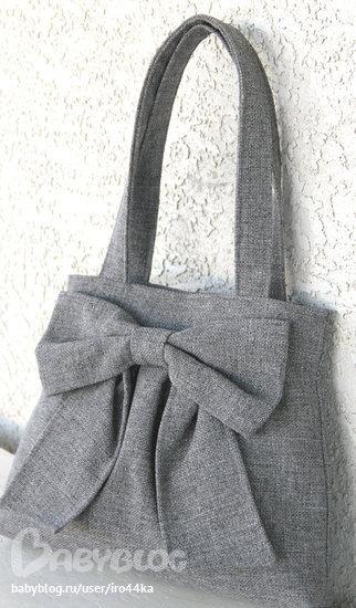 ...пожалуйста, может у кого-то есть выкройка такой или похожей сумки?