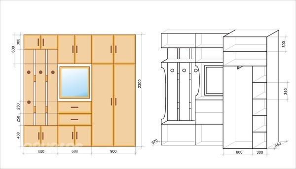 Интерьерное решение прихожих, коридорчиков - дизайн интерьер.
