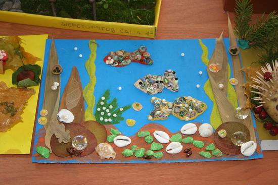 Морские камни и ракушки поделки