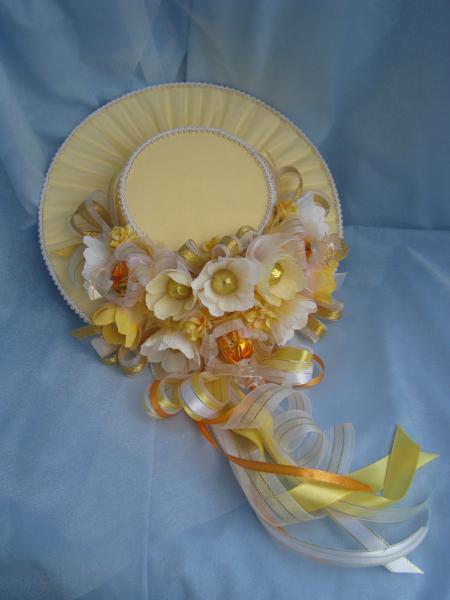 Шляпы из конфет