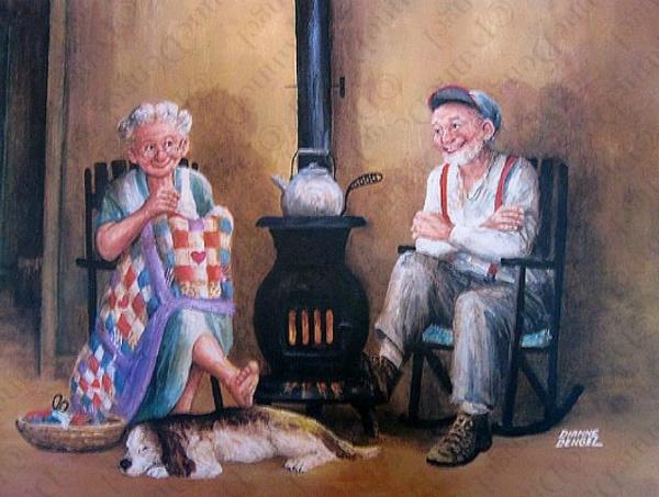 Зрелая художница