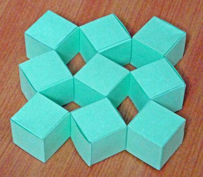Как сделать кубик из бумаги без ножниц и клея