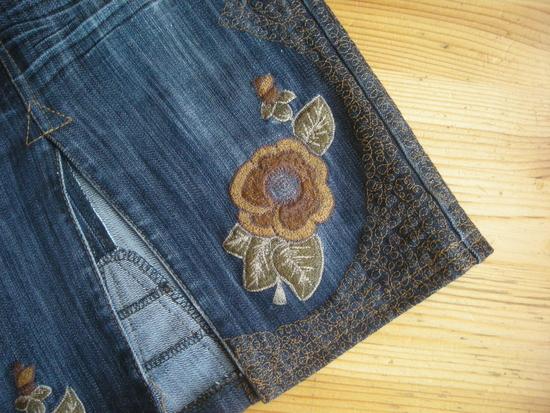 Вязанные сумки крючком: джинсы коин. как перешить джинсы в юбку.