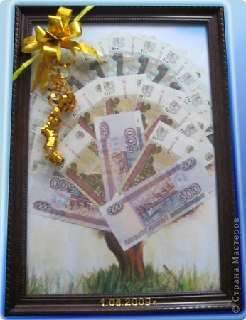 Сделать денежное дерево подробнее