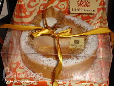 Торт Французский Крепвиль вишня 1кг...