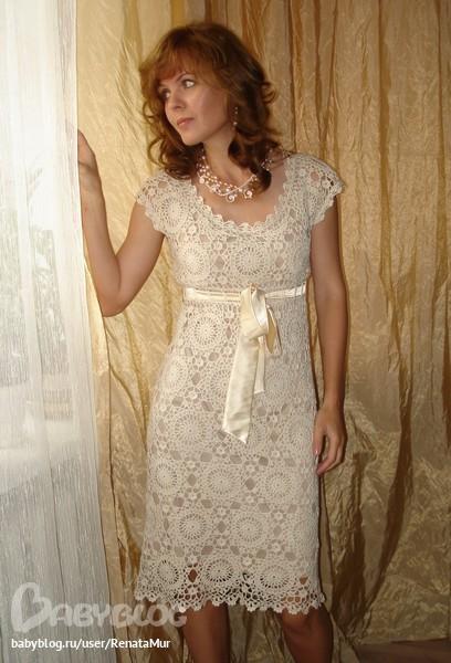 Нитки для вязания летнего платья